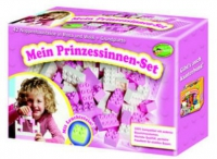 Prinzessinnen Set rosa/weiss (Junior Bausteine)