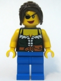 Minifigure Pirates weiblich (pi101)