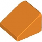Schrägstein 1x1x2/3 orange (50746/54200)