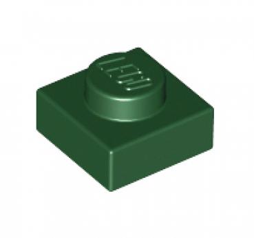 // Dark Green 30008 28554 NEUF Lego 3024-10x Plaque // Plate 1x1 Vert F