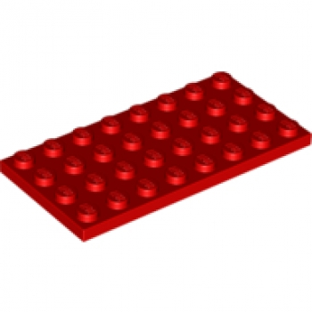 Platte // Plate 4 x 8 schwarz # 3035 LEGO 4 Stück