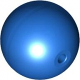 Sphere Ball trans med-blue (54821)