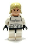 LEGO Star Wars Luke Skywalker (Stormtrooper) weiss (sw204)