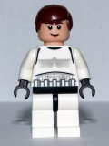 Han Solo (Stormtrooper) Set 10188 white (sw205)