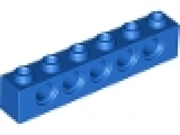 LEGO Technic brick 1x6 blue (3894)