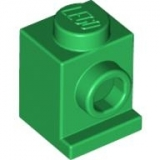 LEGO Stein Headlight 1x1 gruen  (4070)