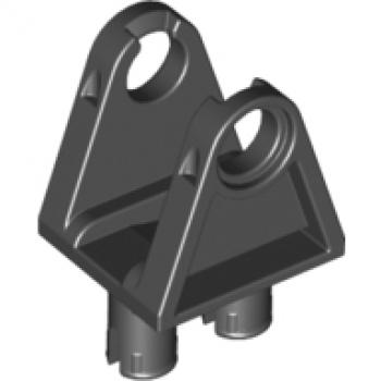 Lego Schwarz Platten Modifiziert 2x2 mit Doppelt Technic Stift Achse Löcher LEGO Bau- & Konstruktionsspielzeug LEGO Bausteine & Bauzubehör 10