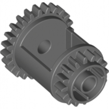Light Gray Gear Worm Screw Technic LEGO