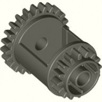 LEGO Technic Differential Z24-16 alt dunkelgrau (6573)