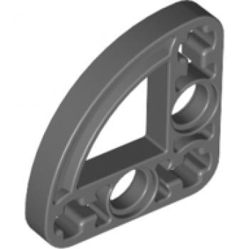 LEGO® 2Stk Technic Liftarm flach 3x3 90° schwarz 32249