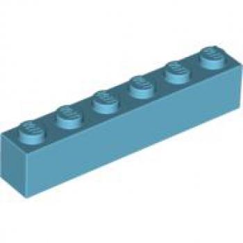 20 Lego Bausteine 1x6 weiss NEU Grundsteine Basic Steine 3009