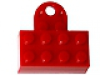 LEGO 2x4 Magnet Minifig Stand rot (74188)