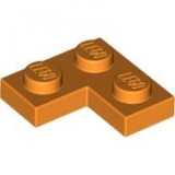 LEGO Platte Ecke 2x2 orange (2420)