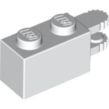 *NEW* Lego White 1x2 Light Brick Block Light on Side Electronic x 1 piece