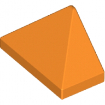 Dach/Schrägstein 1x2 orange (15571)