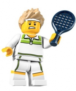 LEGO Collector Serie #7 Tennis Ass (col105)