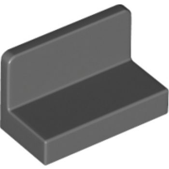 Baukästen & Konstruktion 6146225 Lego Paneele 1 x 2 x 1 Dunkelgrau 10 Stück