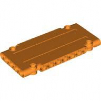 Technic Paneel Platte 1 x 5 x 11 orange (64782)