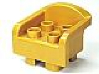 DUPLO Stuhl / Thron gold (6477)