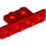 "Umlenker ""Bracket"" 1x2 / 1x4 red (2436)"