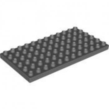 Baukästen & Konstruktion 2x LEGO® 6x8 Platten neu-dunkelgrau 3036 dark bluish gray plates LEGO Bau- & Konstruktionsspielzeug