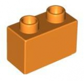 JUNIOR Baustein 1x2x1 orange (H4067)