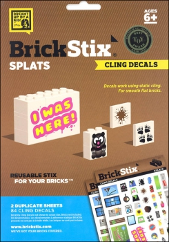 BrickStix Haftsticker Set Splats! (Stix13)