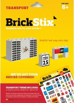 BrickStix Haftsticker Set Transport (Stix15)