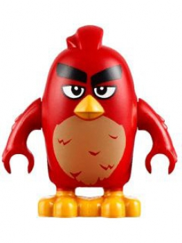 "LEGO Minifigur Angry Birds ""Red"" (012)"