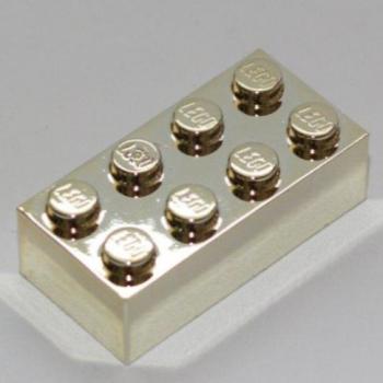 LEGO Bau- & Konstruktionsspielzeug 1801 LEGO Bausteine & Bauzubehör Lego Platte 2x4 Beige 5 Stück