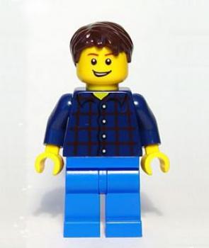 lego brick shop lego einzelteile und ersatzteile lego minifig figur m nnl dunkel blau cty177. Black Bedroom Furniture Sets. Home Design Ideas