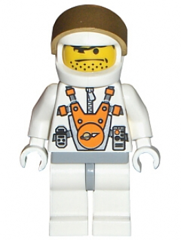 Space Mars Mission Astronaut Nr. 7 (007)