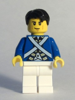 Minifigure Piraten Blaurock/Soldat #6 (174)