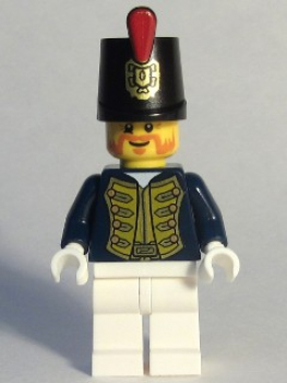 "Minifigure Piraten ""König"" Offizier (176)"