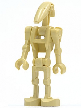 LEGO Star Wars - Battle Droid 2 gerade Arme (sw001d)
