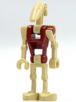 LEGO Battle Droid Security dunkelrot sw096 (7662, 9494)