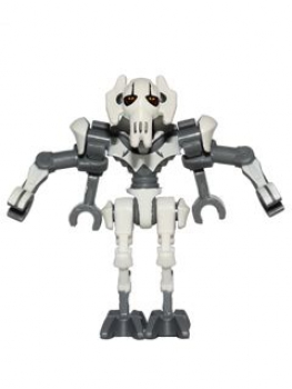 LEGO Star Wars General Grievous perl-grau (515)
