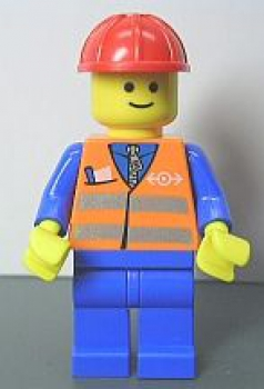 lego brick shop lego einzelteile und ersatzteile lego minifig figur bauarbeiter m helm. Black Bedroom Furniture Sets. Home Design Ideas