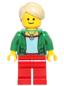 LEGO Town Minifigur Bank Angestellter (248)