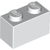 lego brick shop lego einzelteile und ersatzteile lego 300401 einzelstein weiss 1x2 3004 billig. Black Bedroom Furniture Sets. Home Design Ideas