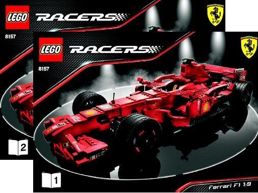 Brick Shop Legoracers Ferrari F1 Instructions 1 19 8157 Part Spare Brick Pick A Brick Lego Shop Instructions
