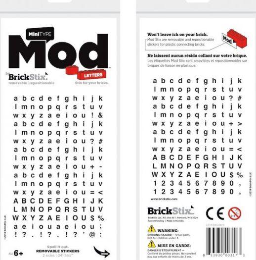 lego brick shop lego einzelteile und ersatzteile aufkleber buchstaben alphabet schreiben. Black Bedroom Furniture Sets. Home Design Ideas