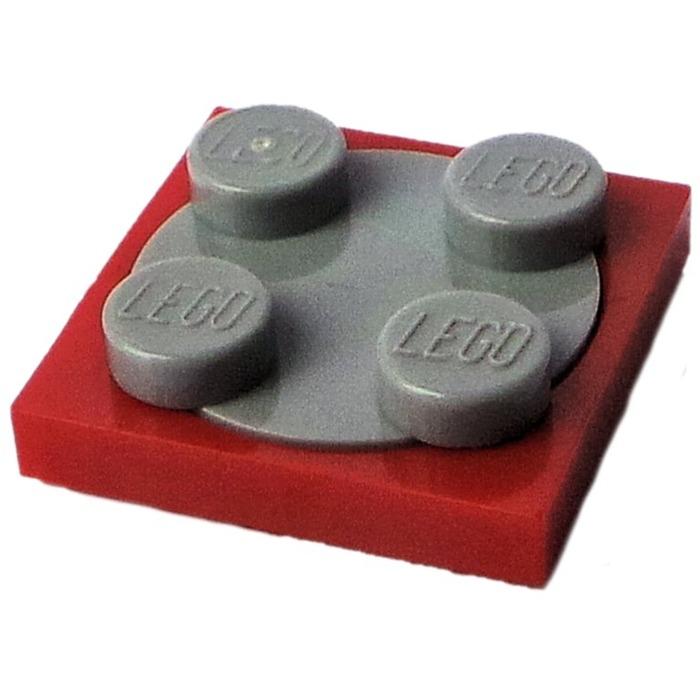 lego brick shop lego einzelteile und ersatzteile lego 4519956 drehteller 74340 rot grau alt. Black Bedroom Furniture Sets. Home Design Ideas