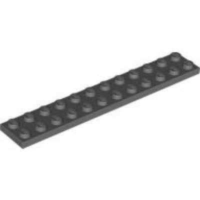 Lego 4x Plaque plate 2x12 12x2 2445 Black//noir//schwarz