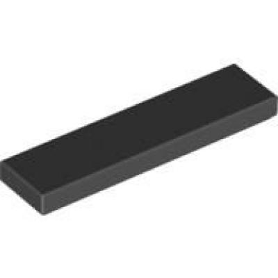 4x Kachel Platte Glatt 1x4 Mit Groove Blau Dunkel- Dark Blau 2431 Neu Lego