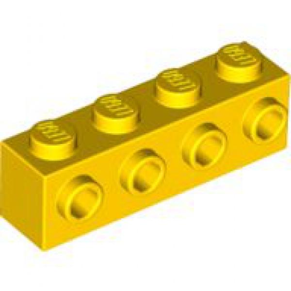 + + LEGO   25  schwarze  Bausteine 1x4  Noppen   NEU
