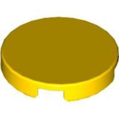3 Stück x5 # Lego 4150p02 Fliese Platte 2x2 rund gelb bedruckt