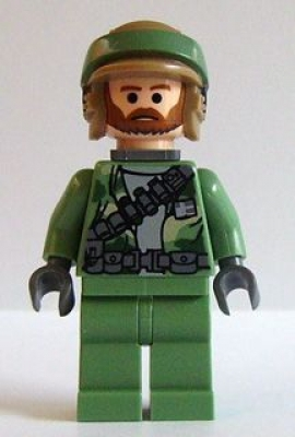 LEGO Rebel Commander (m. Bart) (sw240)