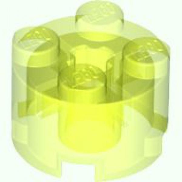 4x Lego Brick 1x2 2x1 Grün Gelb Neon Grün Trans Neon Grün 3065 Neu Lego