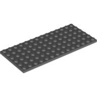 Flat Plate 6 x 14 ~BLACK~  EXC 1 3456 LEGO Parts~